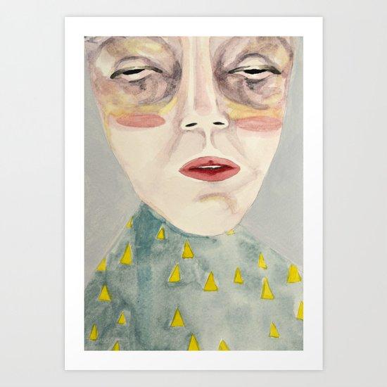 Carrot Flowers Art Print