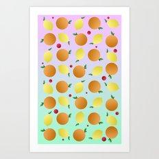 CITRUS PORN  Art Print