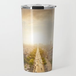 Champs Elysees From the Top Travel Mug