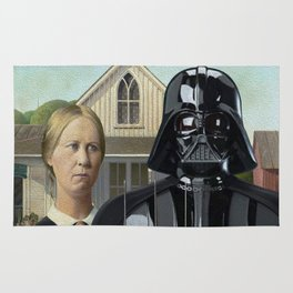 Darth Vader in American Gothic Rug