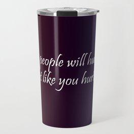 Fake People Travel Mug