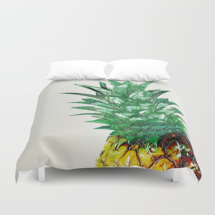Pineapple II Duvet Cover