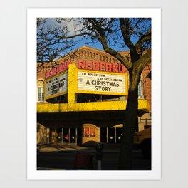 The Redford Theatre Art Print
