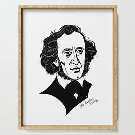 Felix Mendelssohn Serving Tray