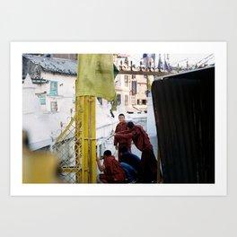 Playing Time. Film Photography Art Print Art Print