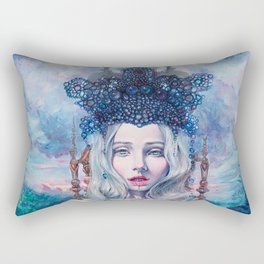 Self-Crowned Rectangular Pillow