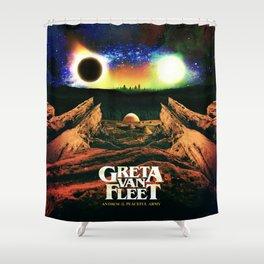 greta anthem van fleet 2021 Shower Curtain