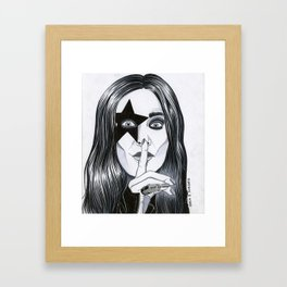 Ozzy - The Starchild Framed Art Print