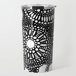 graphic dots pattern Travel Mug