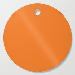 Fluorescent Neon Orange | Solid colour Cutting Board
