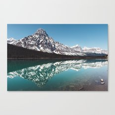 Reflection in the Rockies Canvas Print
