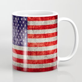 Antique American Flag Coffee Mug