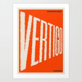 A MOVIE POSTER A DAY: VERTIGO Art Print