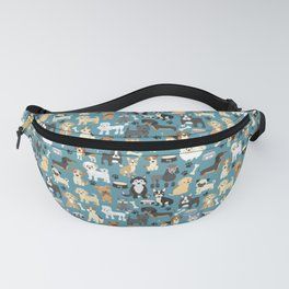 Cute Puppies Little Dogs Fanny Pack