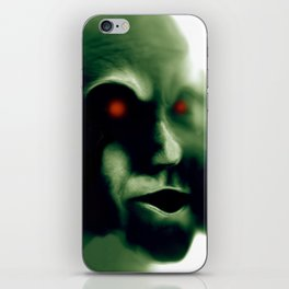 The Green Visitor iPhone Skin
