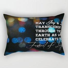 Festival lights Rectangular Pillow