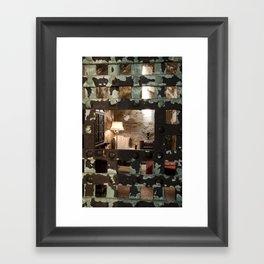 Al Capone Cell Framed Art Print