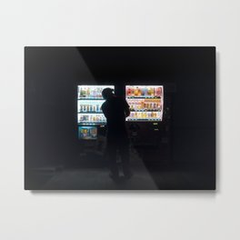 Vending Machine Metal Print
