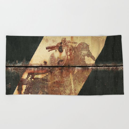 Ghost Speed Beach Towel