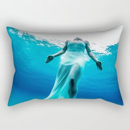 Underwater Princess Rectangular Pillow