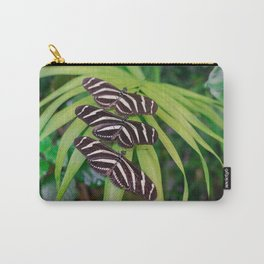 Zebra longwing butterflies Carry-All Pouch