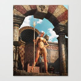 Fantasy Queen Canvas Print