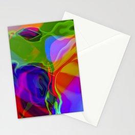 Digital Oil Slick Stationery Cards
