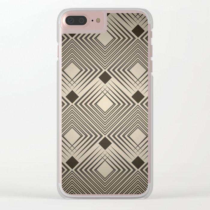 Art Deco. Magic. Clear iPhone Case