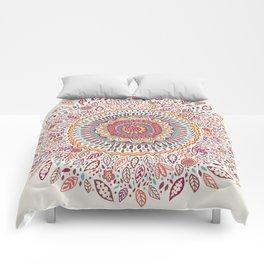 Sunflower Mandala Comforters
