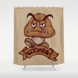 Goomba Shower Curtain