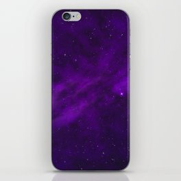 Ultra Violet Galaxy iPhone Skin