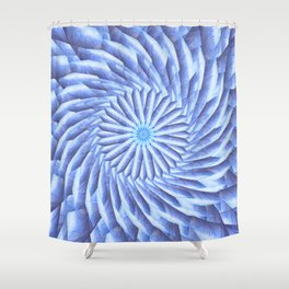 Crystal Dynamics Mandala Shower Curtain