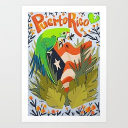 United for Puerto Rico Art Print