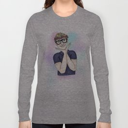Tyler Oakley Pastels Long Sleeve T-shirt