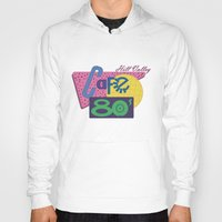 80s Hoodies featuring Cafe 80s by Loku