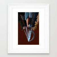 thrones Framed Art Prints featuring Game of Thrones by Aimee Zhou