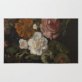 Rachel Ruysch - Flowers In A Vase. Rug