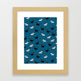Kitty Kats Framed Art Print