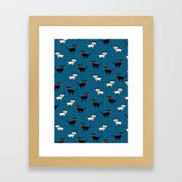 Kitty Kats Framed Art Print