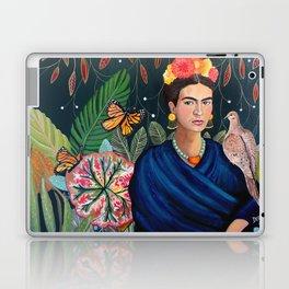 Frida et sa nature vivante Laptop & iPad Skin