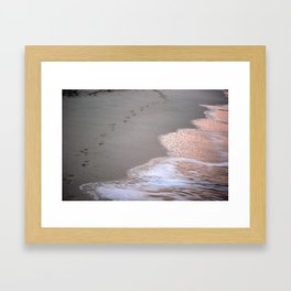 I'm as lost as you Framed Art Print