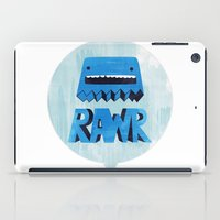 returns iPad Cases featuring Rawr Returns! by mrbiscuit