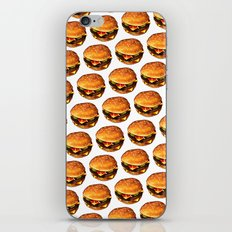 Cheeseburger Pattern 2 iPhone & iPod Skin