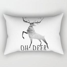 oh deer /Agat/ Rectangular Pillow