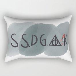Stay Sexy, Don't Get Avada Kedavra'd Rectangular Pillow