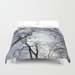 Branches of trees Duvet Cover