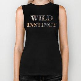 wild instinct suede Biker Tank