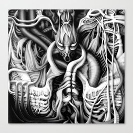 Alien flesh #1 Canvas Print