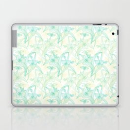 Abstract Lily Flowers Laptop & iPad Skin