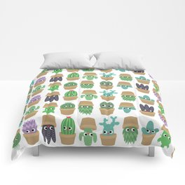 the secret life of plants Comforters